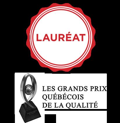 Lauréat | Grand prix quécois de la qualité